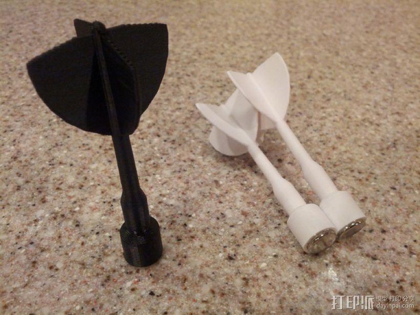磁力飞镖模型 3D模型  图1