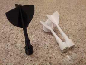 磁力飞镖模型 3D模型