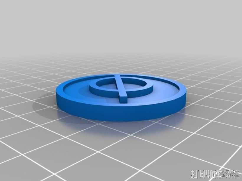 YODO游戏标志模型 3D模型  图6