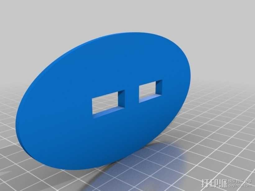 个性化蝙蝠镖模型 3D模型  图4