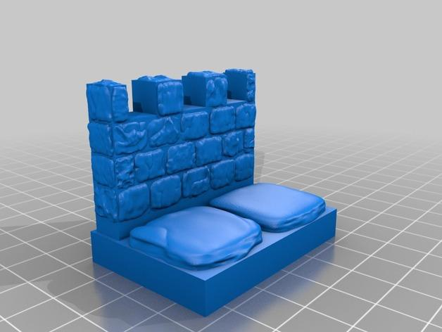 OpenForge雉堞围墙 3D模型  图9
