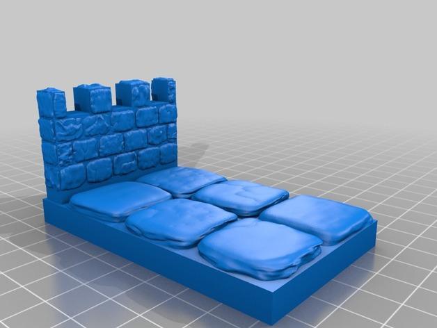 OpenForge雉堞围墙 3D模型  图11