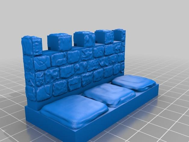 OpenForge雉堞围墙 3D模型  图13