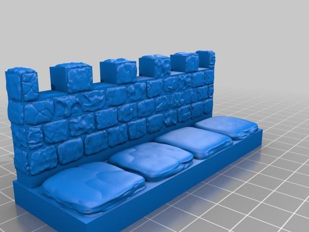 OpenForge雉堞围墙 3D模型  图17