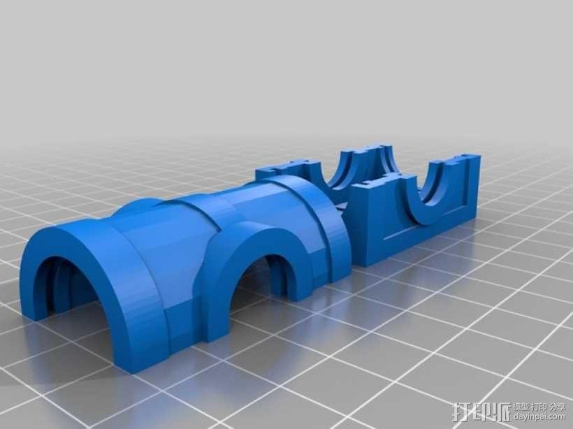 迷你藏宝箱模型 3D模型  图2