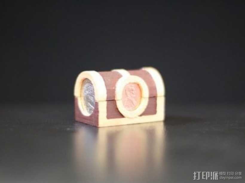 迷你藏宝箱模型 3D模型  图3