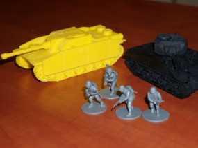 坦克:Stug自行突击炮 3D模型