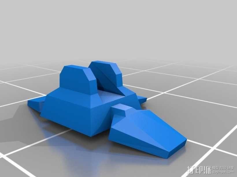 迷你桌游基地模型 3D模型  图2