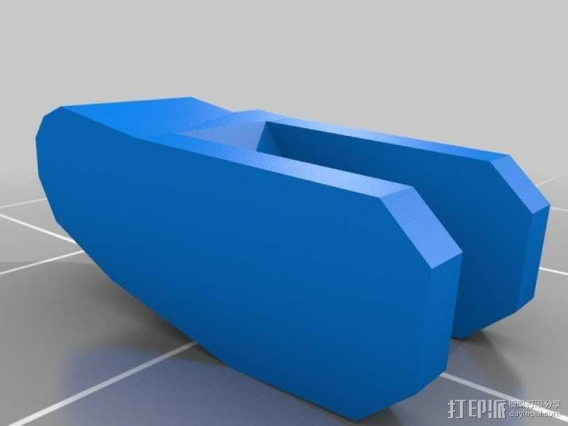迷你桌游基地模型 3D模型  图3