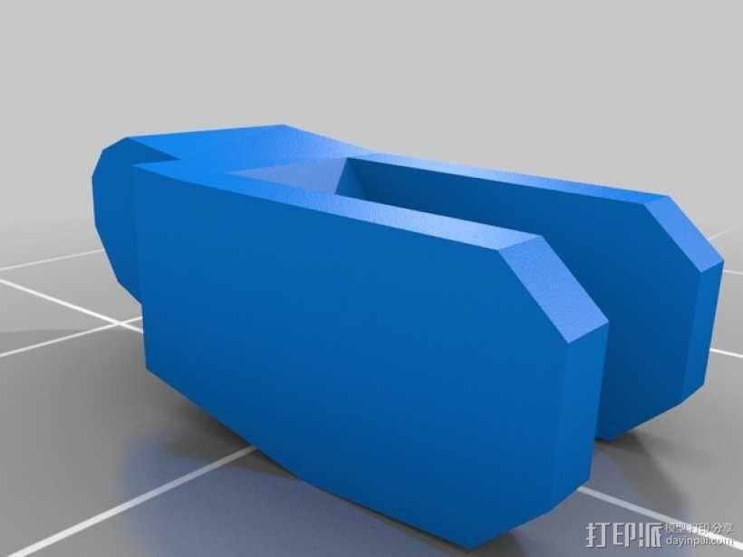 迷你桌游基地模型 3D模型  图5