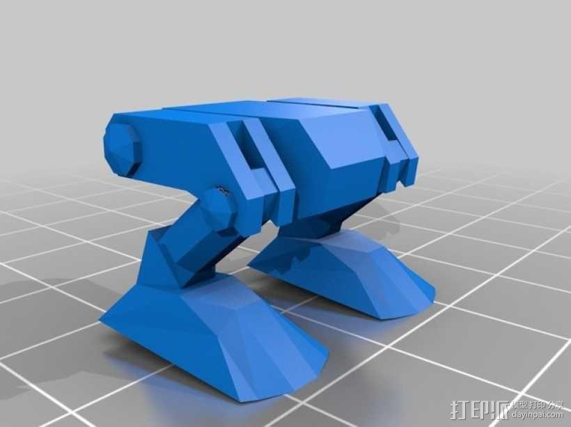 迷你桌游基地模型 3D模型  图8