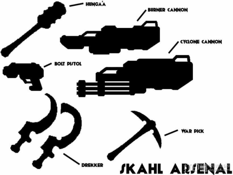 Skahl暴徒系列1 3D模型  图4
