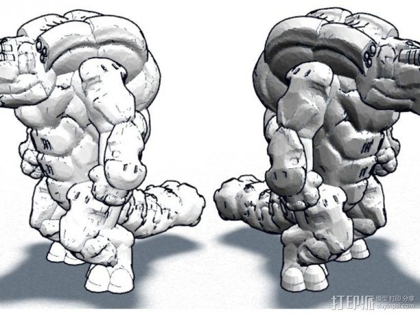 Skahl暴徒系列1 3D模型  图6