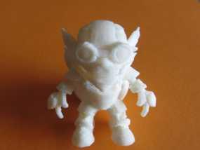 英雄联盟:玩炸弹的约德尔人Ziggs 3D模型