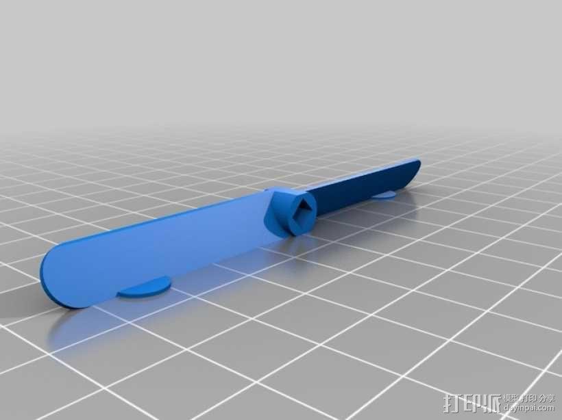 参数化竹蜻蜓模型 3D模型  图4