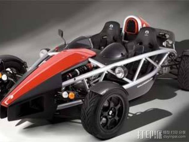 艾瑞欧原子玩具赛车 3D模型  图2