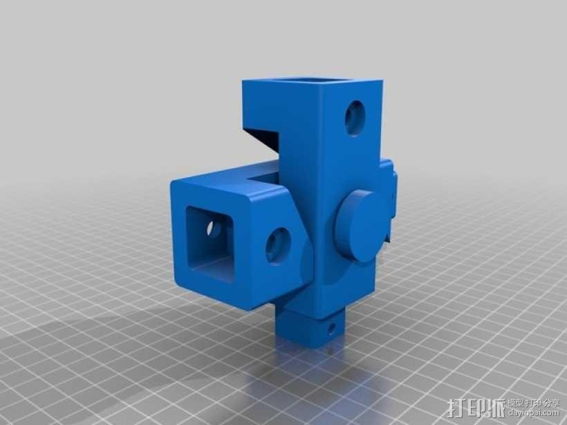 迷你玩具夹钳模型 3D模型  图4