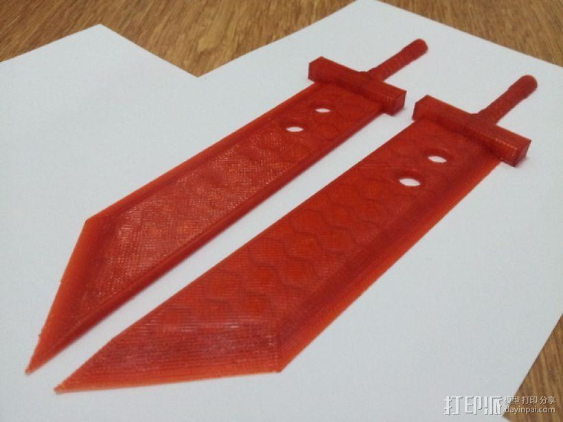 破坏之剑 3D模型  图5