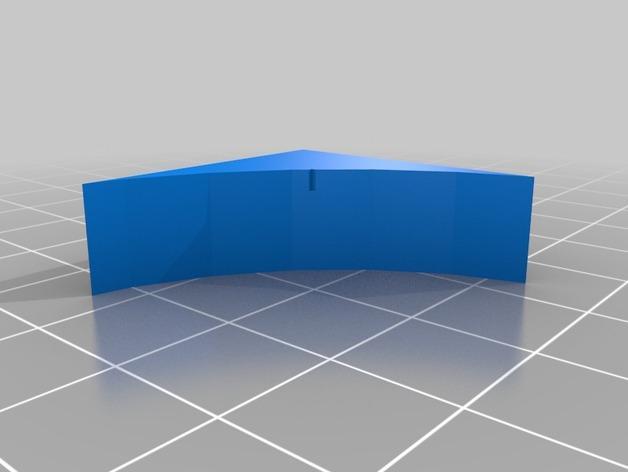 OpenForge弧形墙壁模型 3D模型  图5