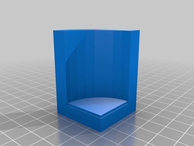 OpenForge弧形墙壁模型 3D模型  图4