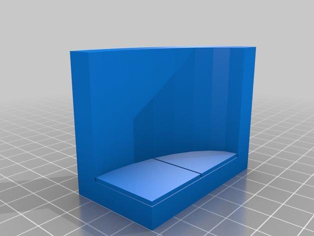 OpenForge弧形墙壁模型 3D模型  图6