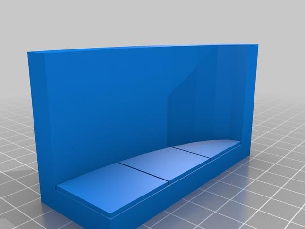OpenForge弧形墙壁模型 3D模型  图8