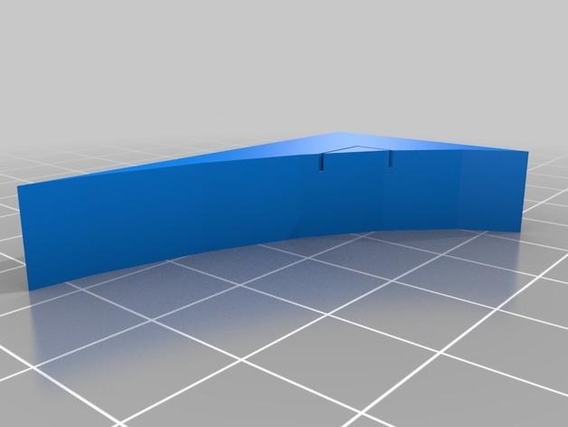 OpenForge弧形墙壁模型 3D模型  图7