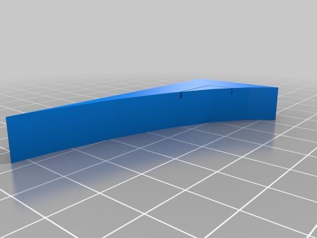OpenForge弧形墙壁模型 3D模型  图9