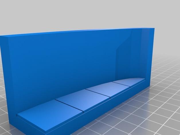OpenForge弧形墙壁模型 3D模型  图10