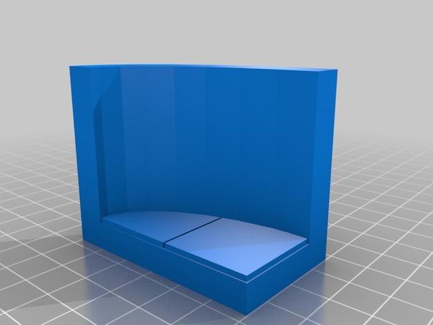 OpenForge弧形墙壁模型 3D模型  图12