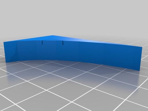 OpenForge弧形墙壁模型 3D模型  图13