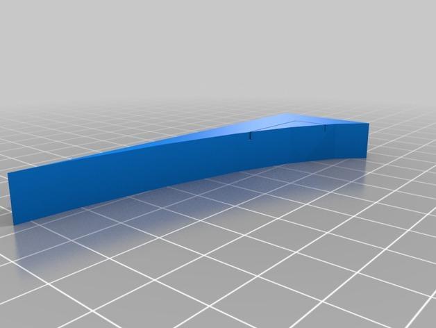 OpenForge弧形墙壁模型 3D模型  图11