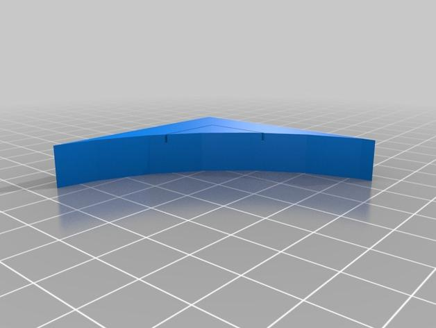 OpenForge弧形墙壁模型 3D模型  图15
