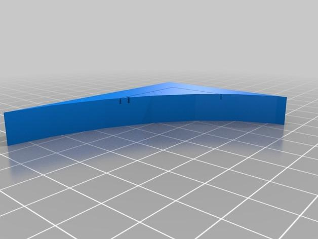 OpenForge弧形墙壁模型 3D模型  图17