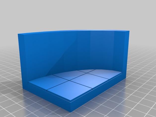 OpenForge弧形墙壁模型 3D模型  图16