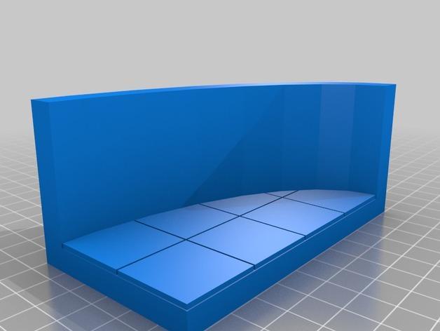 OpenForge弧形墙壁模型 3D模型  图18