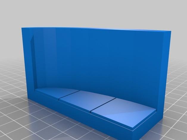 OpenForge弧形墙壁模型 3D模型  图20