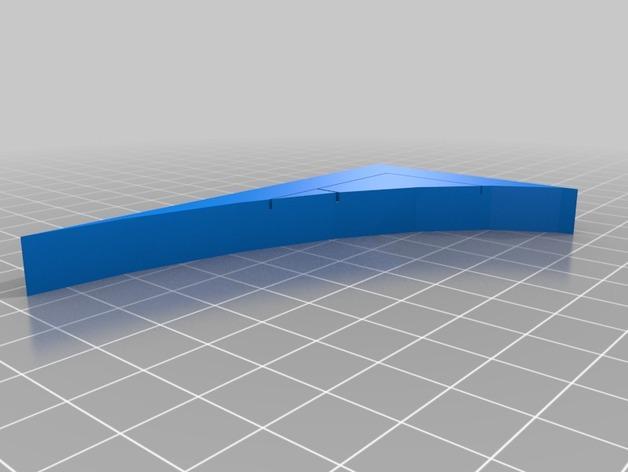OpenForge弧形墙壁模型 3D模型  图19