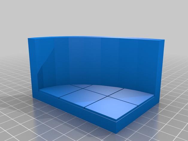 OpenForge弧形墙壁模型 3D模型  图22
