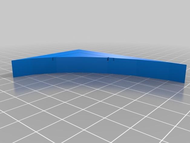 OpenForge弧形墙壁模型 3D模型  图23