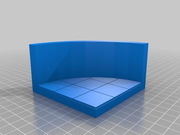 OpenForge弧形墙壁模型 3D模型  图24