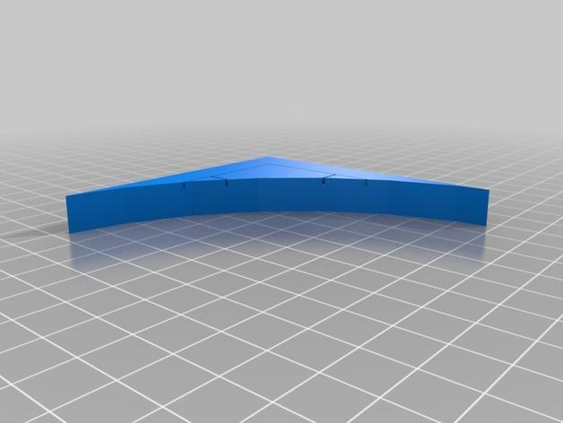 OpenForge弧形墙壁模型 3D模型  图25
