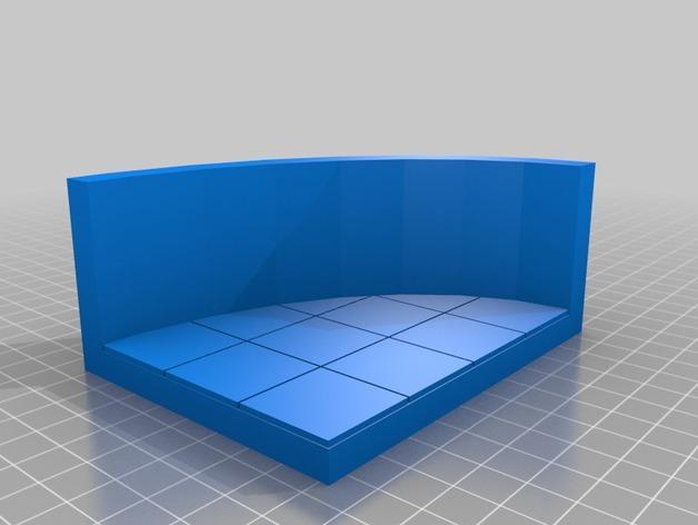OpenForge弧形墙壁模型 3D模型  图26