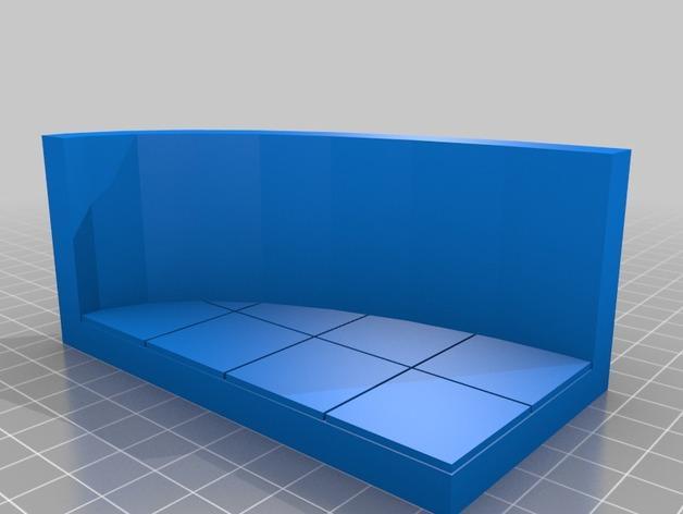 OpenForge弧形墙壁模型 3D模型  图30