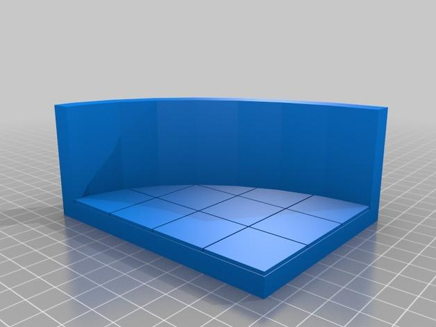OpenForge弧形墙壁模型 3D模型  图32