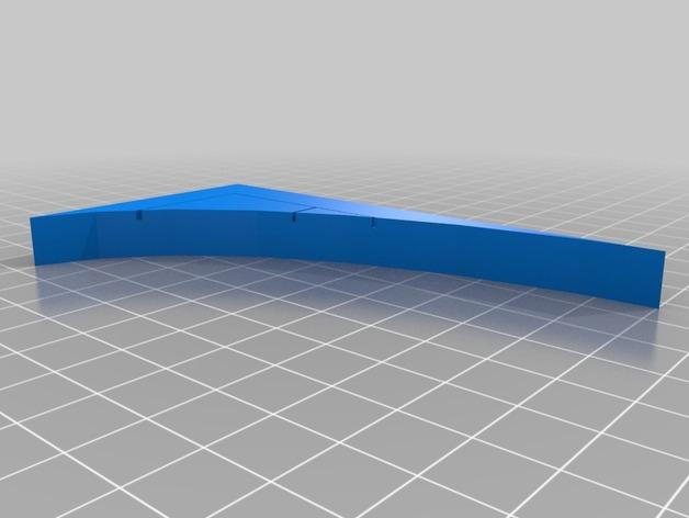 OpenForge弧形墙壁模型 3D模型  图31
