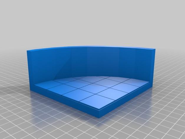 OpenForge弧形墙壁模型 3D模型  图34