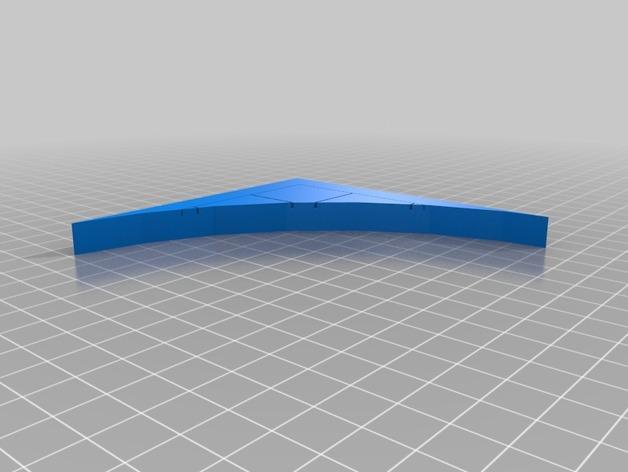 OpenForge弧形墙壁模型 3D模型  图35