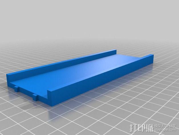 迷你玩偶床模型 3D模型  图3