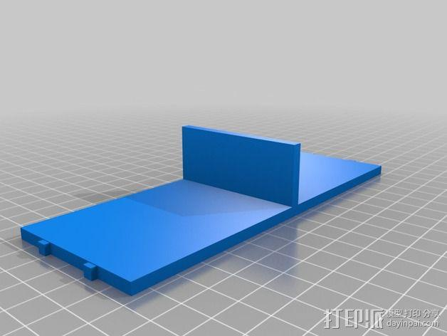 迷你玩偶床模型 3D模型  图4